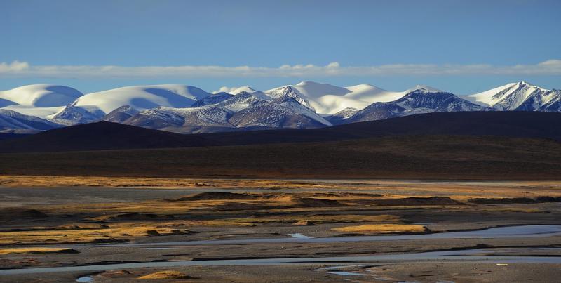 Tiibet kartta